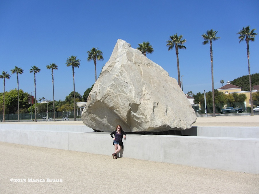 Levitated Mass rock
