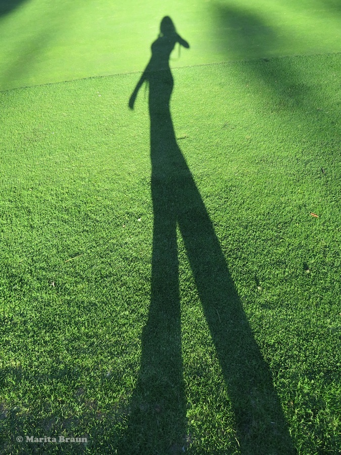 picture of my shadow
